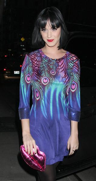Katy escolheu um modelito usável ontem para brilhar na night de NYC